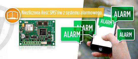 Niezliczona ilość SMS'ów z systemu alarmowego