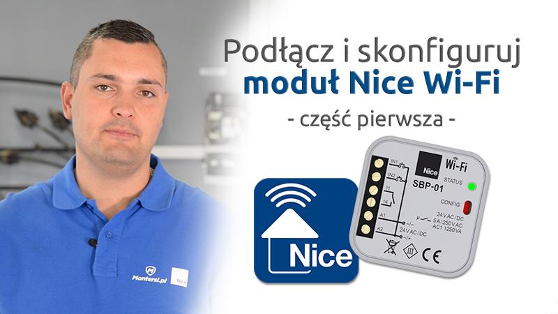 Jak podłączyć  i skonfigurować moduł Nice Wi-Fi