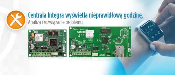 Artykuł: Synchronizacja czasu w centralach Integra