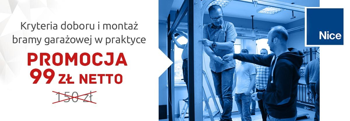 Szkolenie Montersi.pl - bramy garażowe