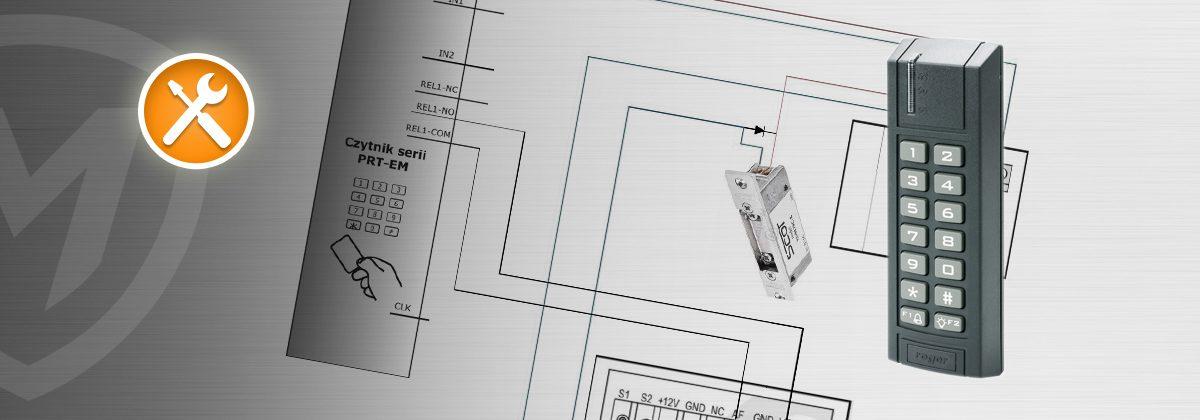 Wykorzystanie autonomicznego czytnika zbliżeniowego PRT12EM do sterowania w systemach domofonowych i wideodomofonowych