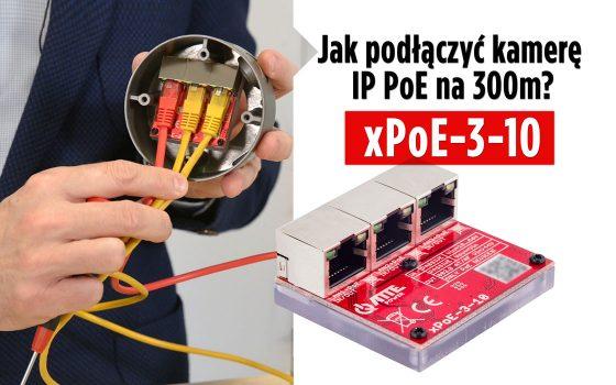xPoE-3-10- 3 portowy Switch PoE