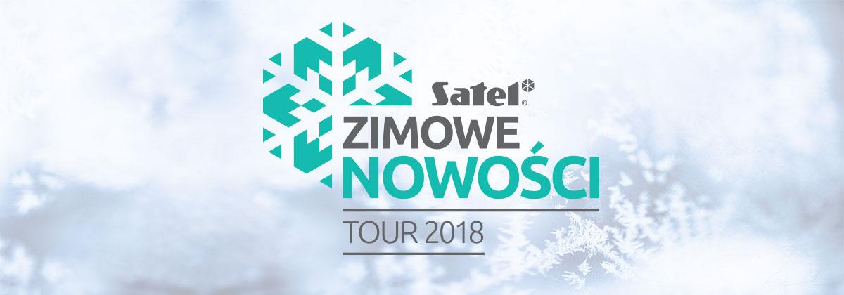 Styczeń 2018 - Zimowe nowości SATEL - TOUR 2018